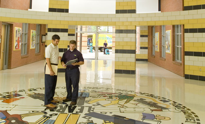 education and healthcare cleaning Rochester MN